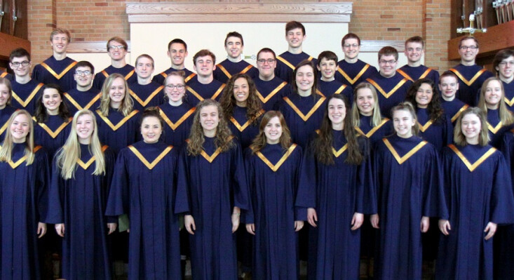 Luther Prep Singers -- Sacred Concert, March 15 at 7:00pm