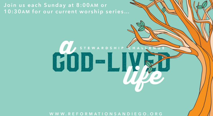 New Series: A God-Lived Life